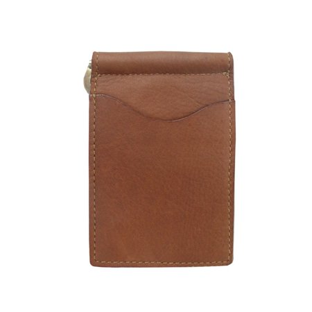 Piel Leather Key/Coin Purse - Saddle