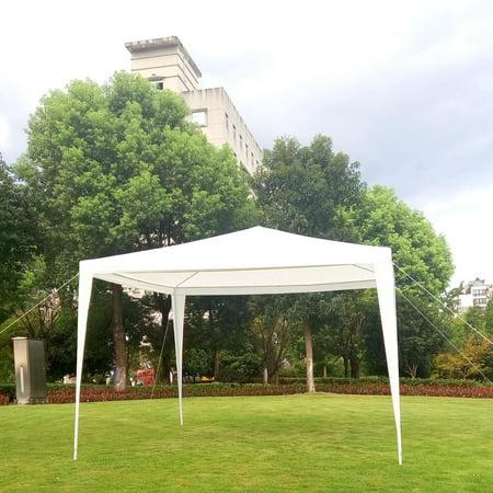 Ktaxon 10' x 10' Party Tent Wedding Canopy Gazebo Wedding Tent Pavilion No Side Walls