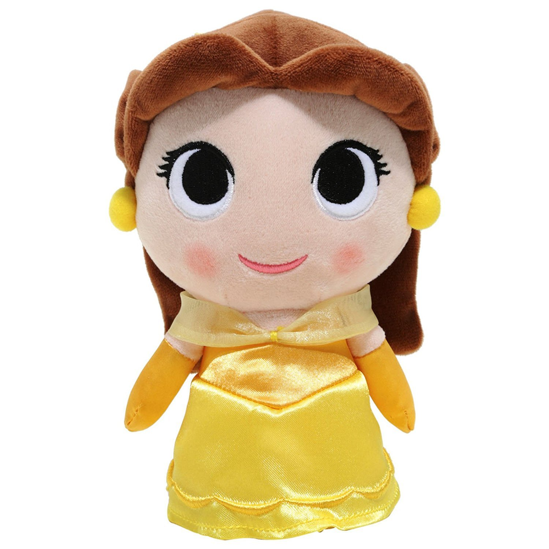 Disney SuperCute Plushie Collectible Plush - Princess Belle