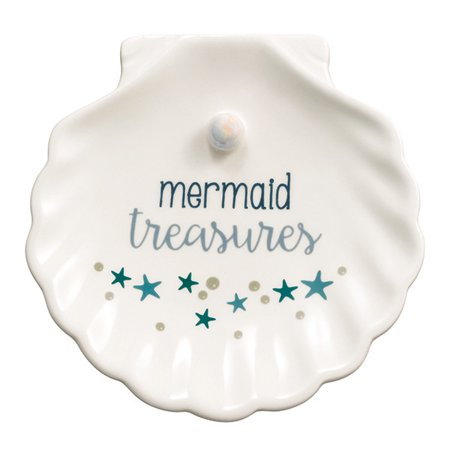Grasslands Road Clamshell Ring Trinket Dish Mermaid Treasures](Grasslands Road Halloween)
