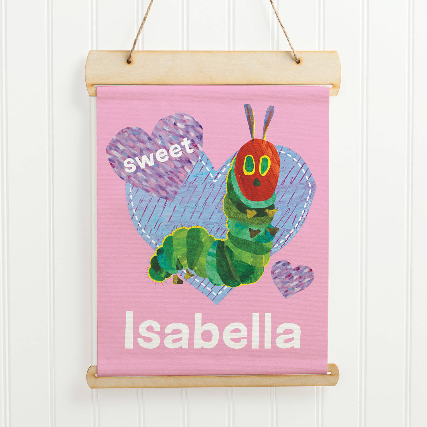 Personalized Very Hungry Caterpillar Sweet Hanging Banner