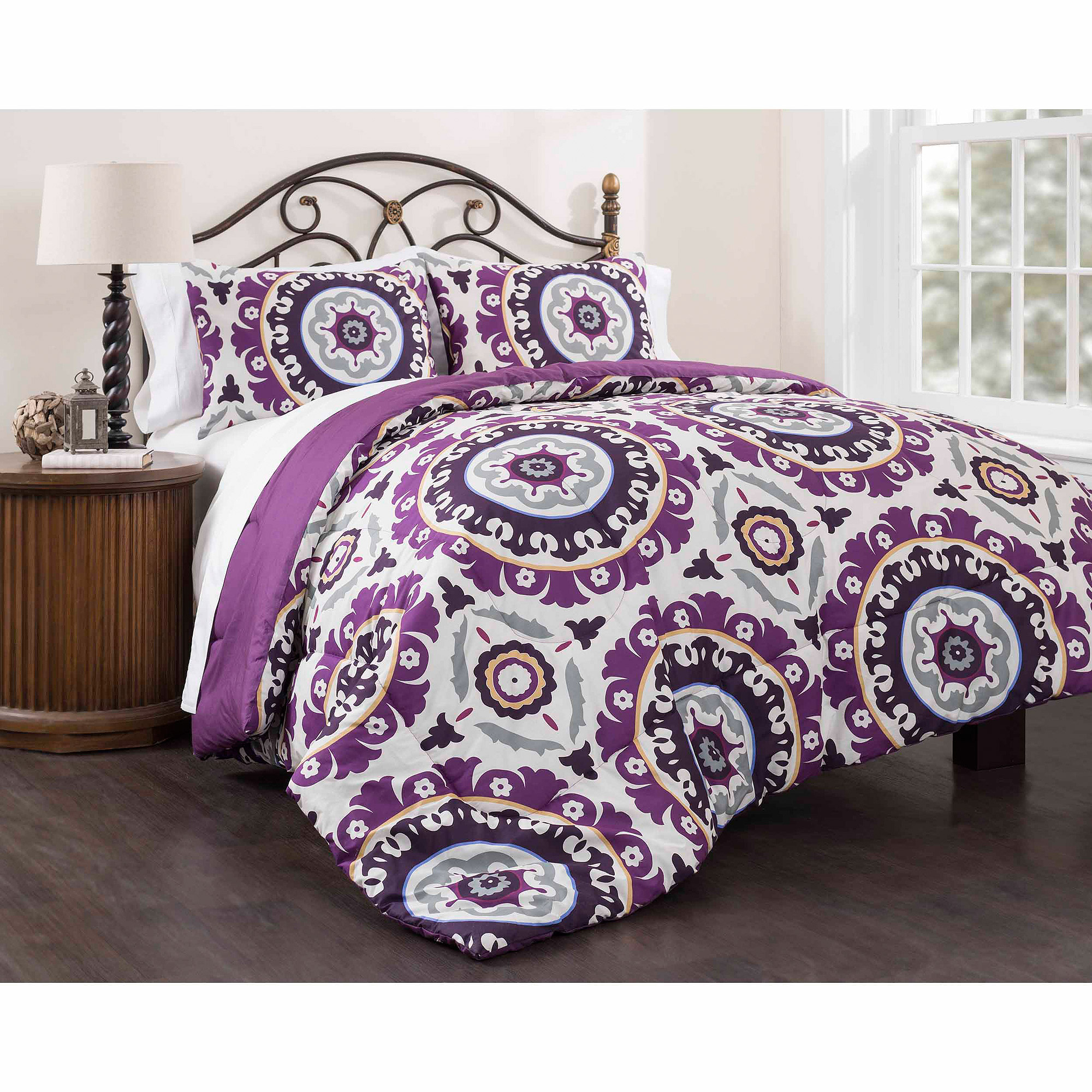 lilac bed piece comforter bath wayfair reviews mariana pdx set