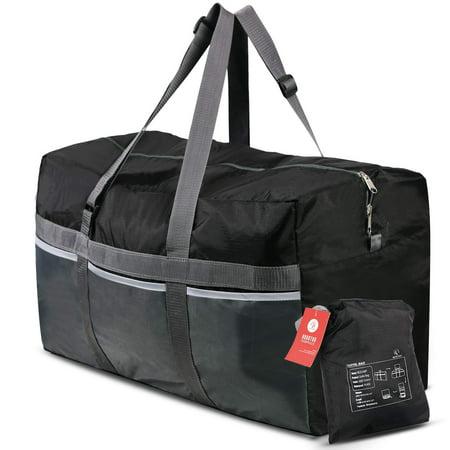 Redcamp Extra Large 25 Duffle Bag 75l Black Lightweight Waterproof Travel Duffel Foldable For Men Women