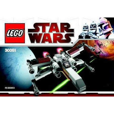Star Wars The Clone Wars X Wing Starfighter Mini Set Lego 30051  Bagged