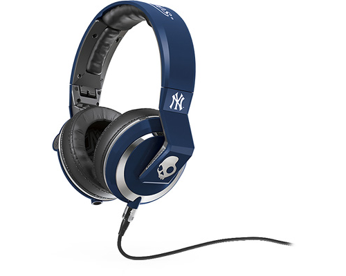 Skullcandy S6MMFM-277 Mix Master New York Yankees DJ Headphones