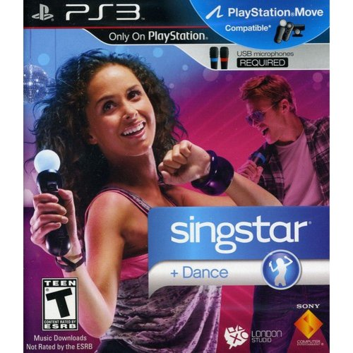 SingStar + Dance  - Motion Control (PS3/ MOVE)