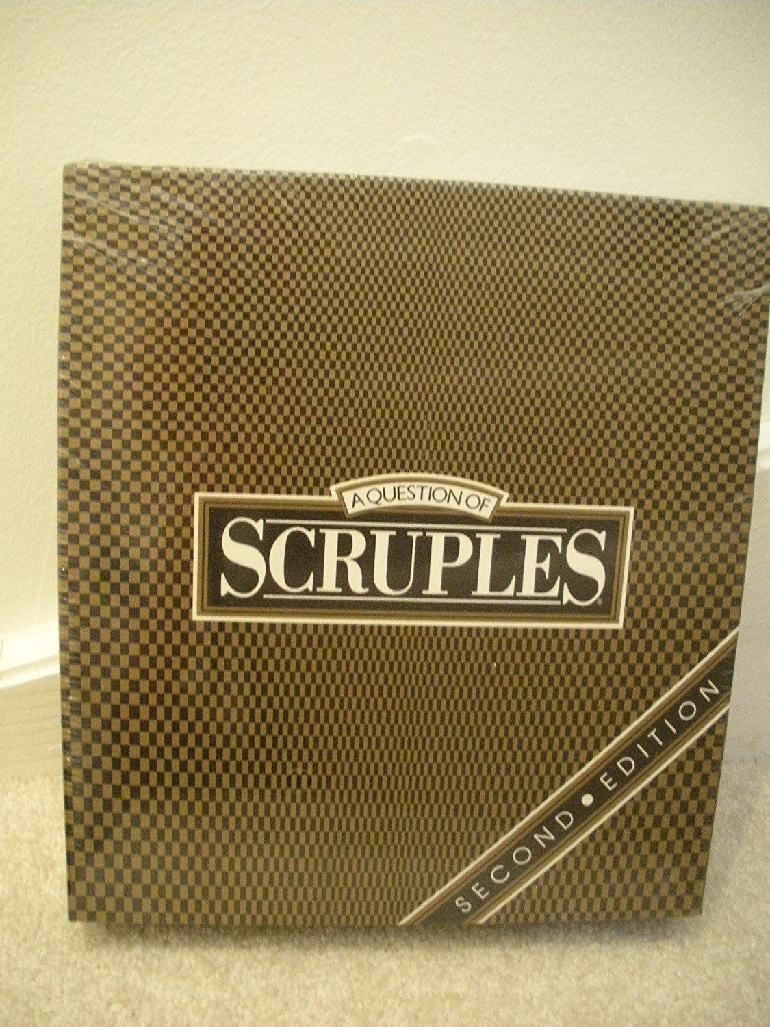 A Question of Scruples, Second Edition by, 14 years and up By Milton Bradley by