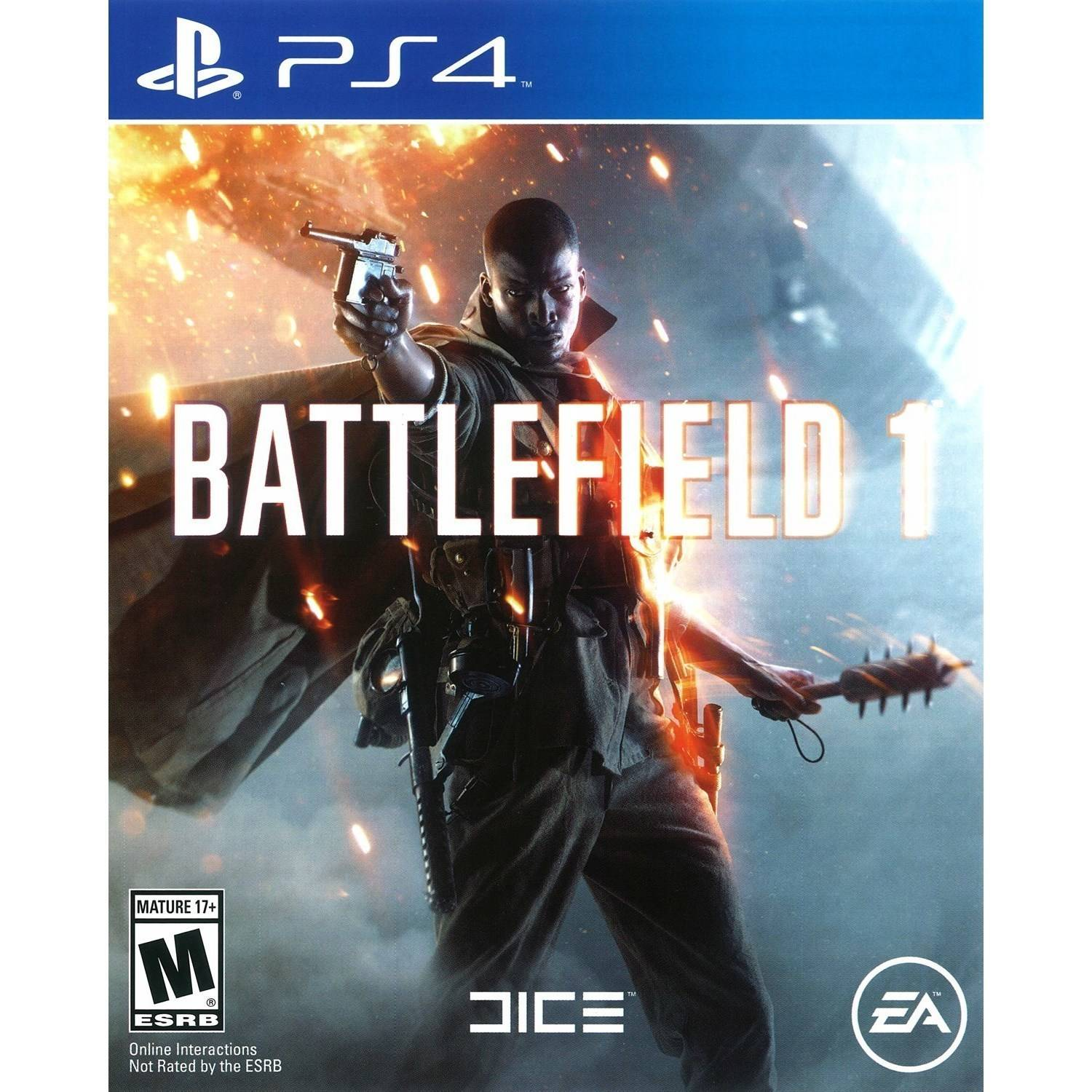 Battlefield 1 Used (Playstation 4) Electronic Arts by EA Digital Illusions Creative Entertainment AB (DICE)