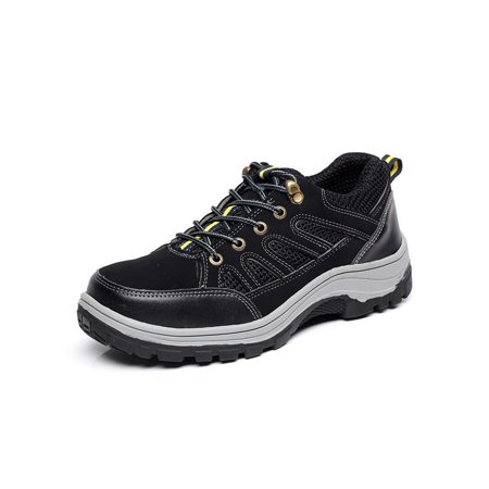 Meigar Men's Steel Toe Safety Shoes Work Sneakers Anti-Slip Hiking Climbing