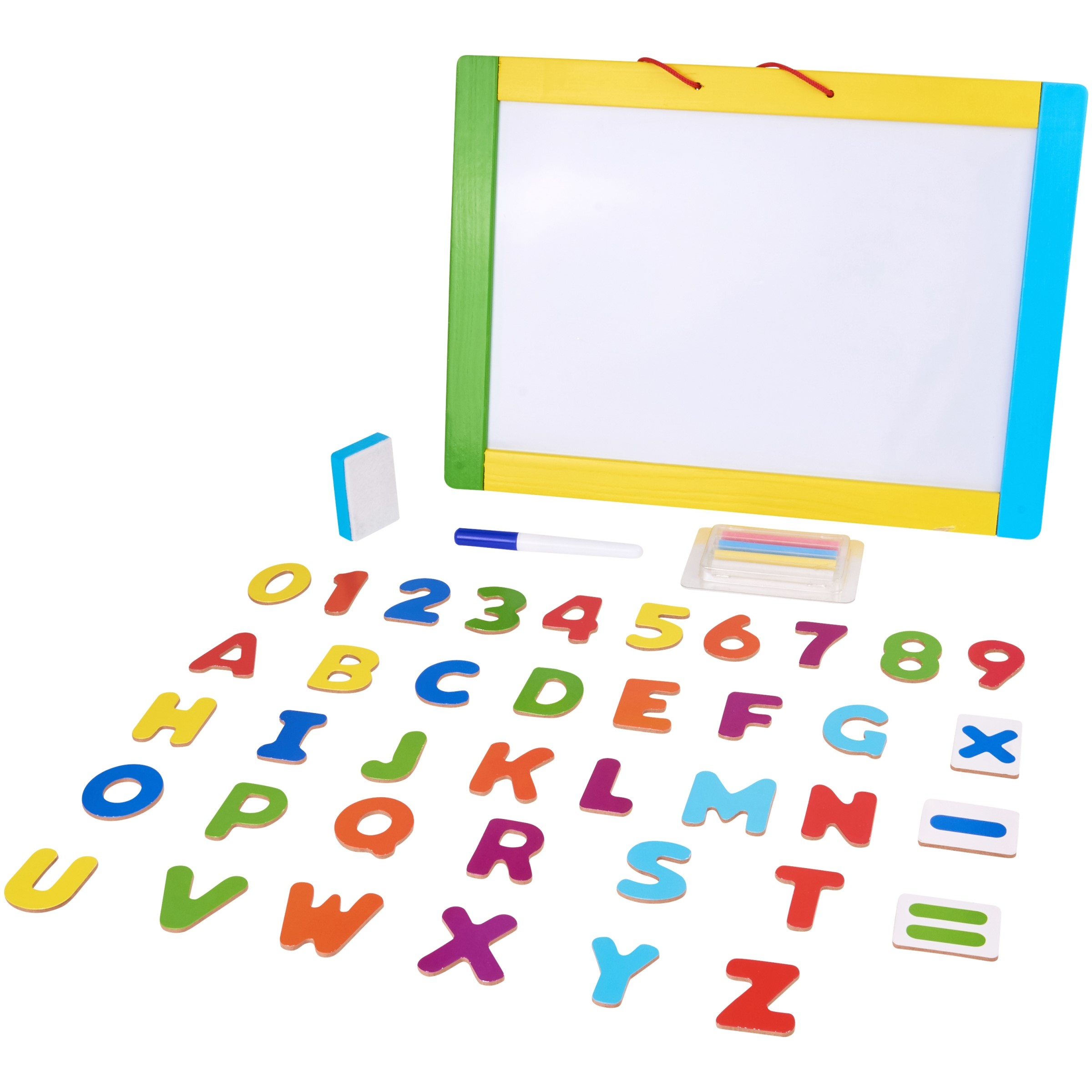 Spark. create. imagine. play double sided learning board, designed for ages 2 and up