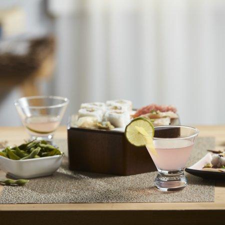 Martini Glassware - Libbey Cosmopolitan Martini Party Glasses, Set of 12