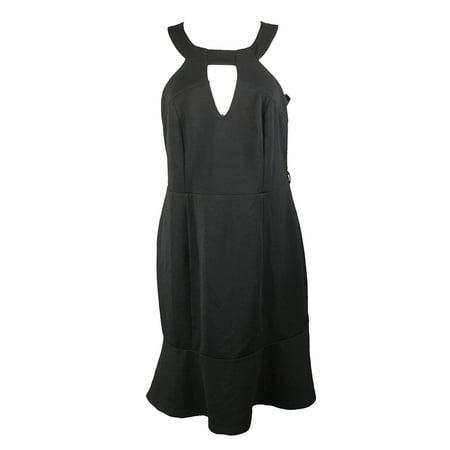 Citychic City Chic Plus Size Black Sleeveless Bodycon Dress Xl