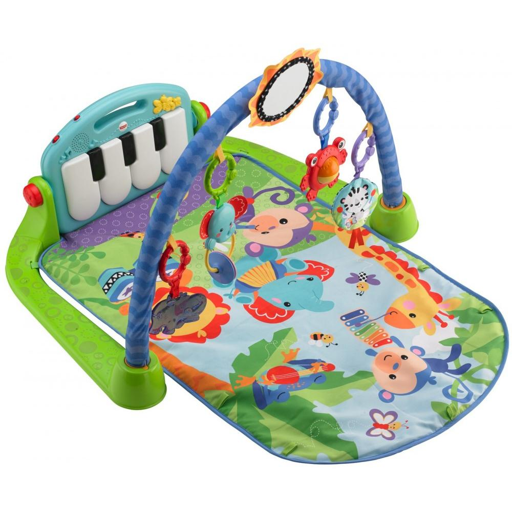 Fisher-Price Kick & Play Piano - Green