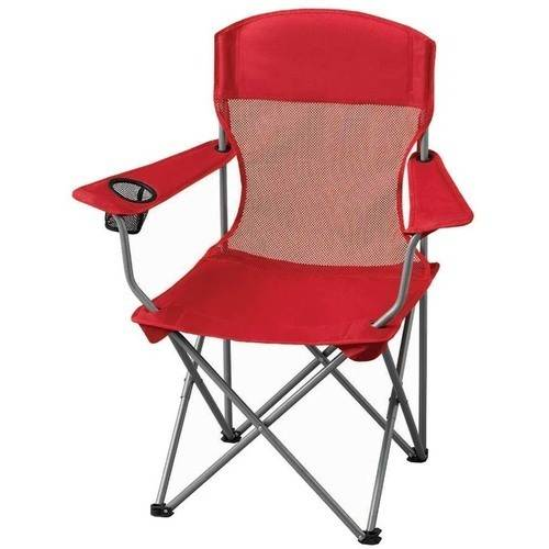 Ozark Trail Basic Mesh Folding Camp Chair with Cup Holder