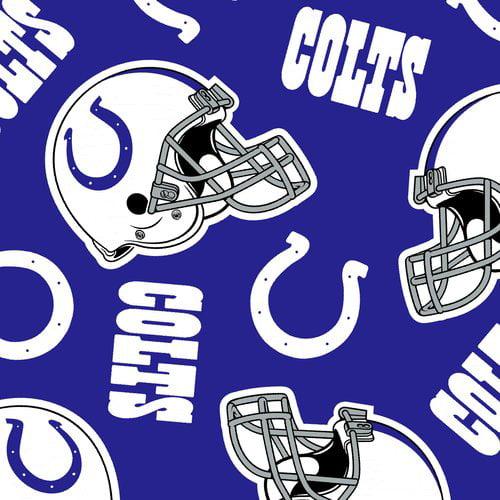 NFL Indianpolis Colts Fleece Fabric