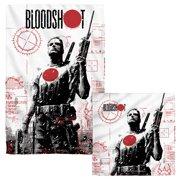 Bloodshot Take Aim Face Hand Towel Combo White