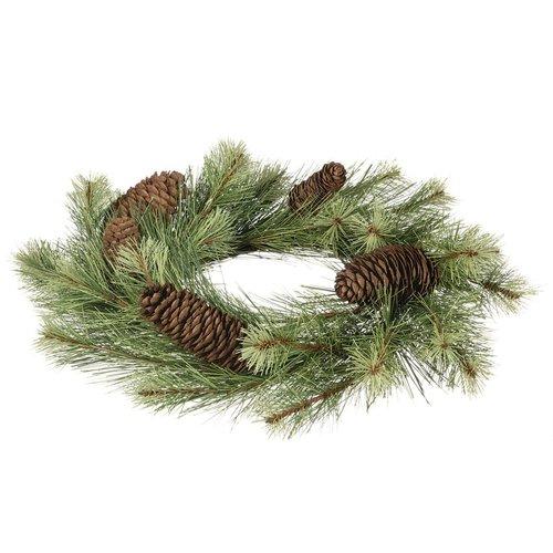 The Holiday Aisle 16'' Black Hills Pine Wreath