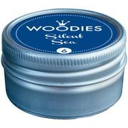 Woodies Dye-Based Ink Tin-Silent Sea