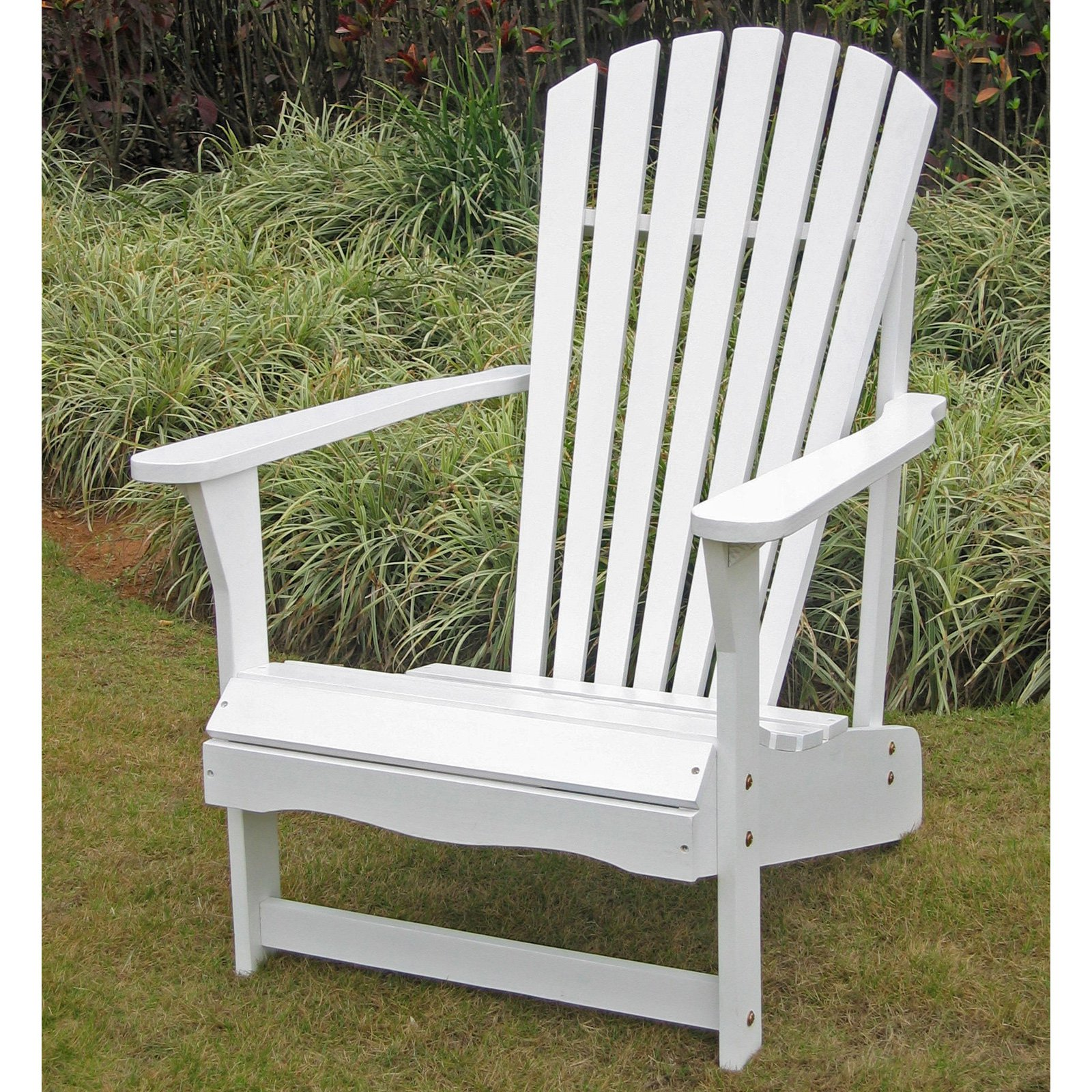 International Concepts Adirondack Chair, White by International Concepts