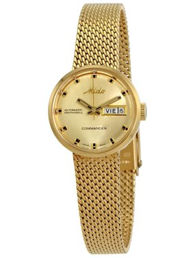 Mido Commander I Rose Gold PVD Stainless Steel Automatic Ladies Watch M716937213