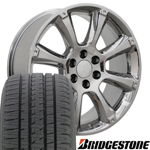 Oe Wheels 22 Inch Fit Cadillac Escalade Chevy Silverado Tahoe