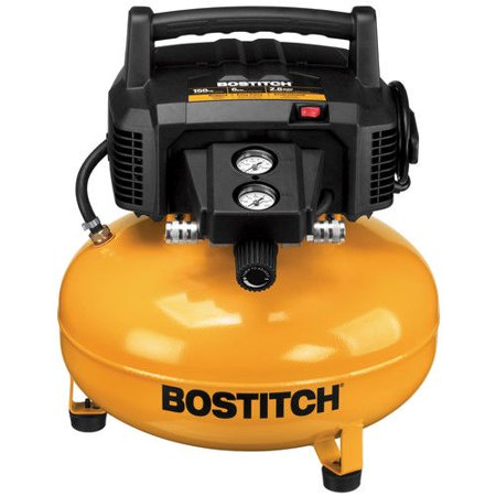Factory-Reconditioned Bostitch BTFP02012-R 6 Gallon 150 PSI Oil-Free Compressor(Refurbished)