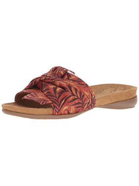 Natural Soul Women's Adalia Slide Sandal, Sunset, 6.5 M US
