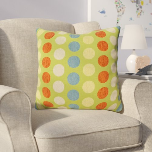 Zoomie Kids Holle Coins Throw Pillow
