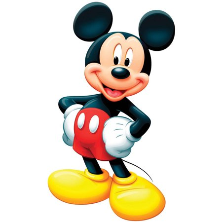 Disney Mickey Mouse Standup, 3' Tall