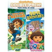 Diego: Wolf Pup Rescue / Dora: Animal Adventures (DVD) (Dora Halloween Show)