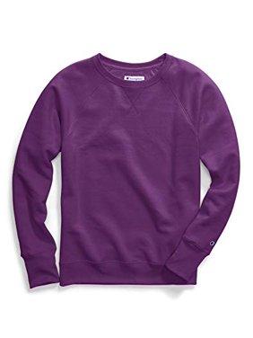 986be032 Product Image Champion Women's Fleece Boyfriend Crew Sweatshirt