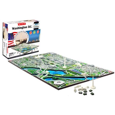 4D Cityscape: 4D Washington DC Cityscape Time Puzzle (Other)