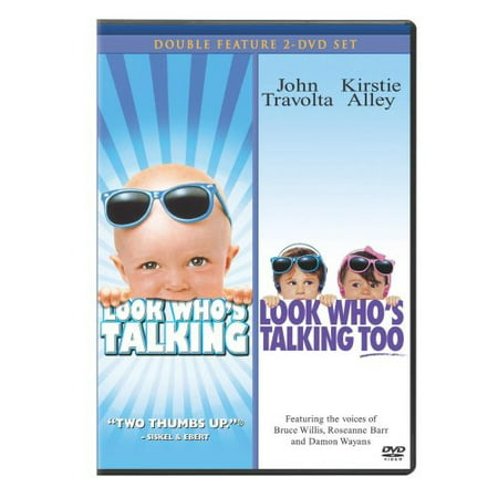Look Who's Talking / Look Who's Talking Too (DVD)