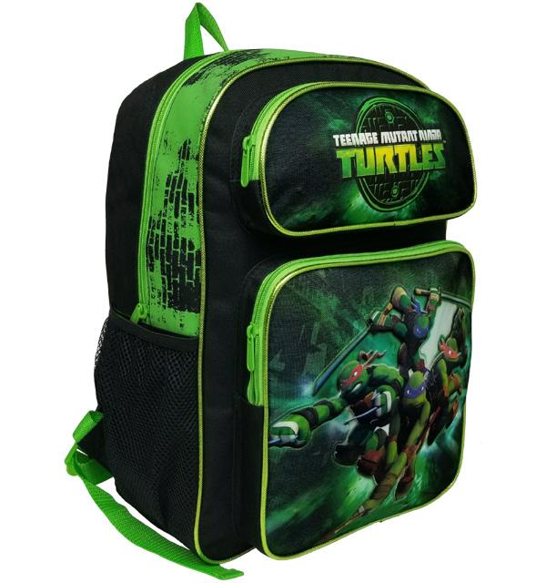 """Teenage Mutant Ninja Turtles 16"""" Large Backpack #TN26783"""