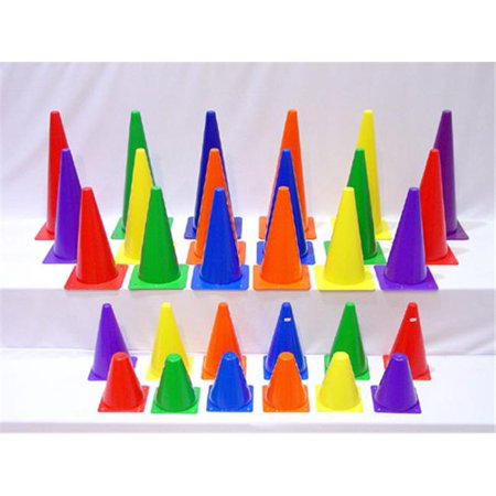 Everrich Evb 0017 15 Inch Plastic Cones   Set Of 6