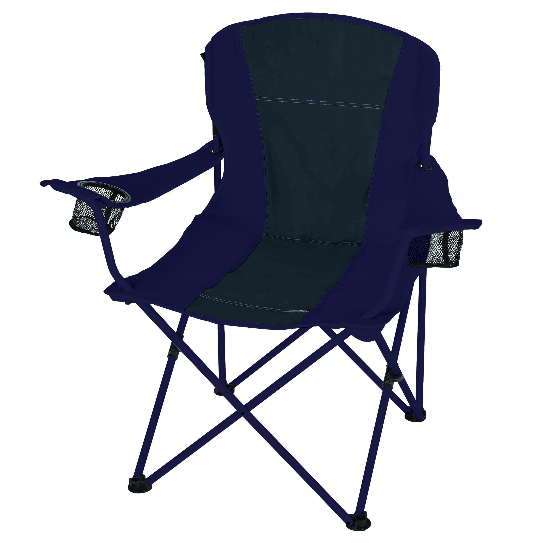 Sensational Ozark Trail Oversized Chair Blue Taupe Walmart Com Theyellowbook Wood Chair Design Ideas Theyellowbookinfo