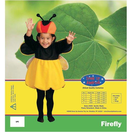 Dress Up America Firefly Dress Children's Costume