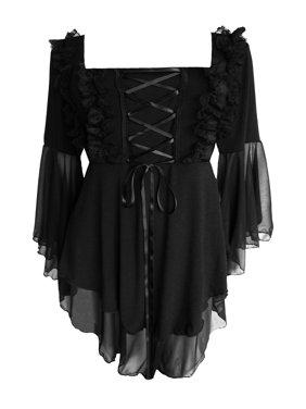 Dare To Wear Victorian Gothic Boho Women's Fairy Tale Corset Top S - 5x