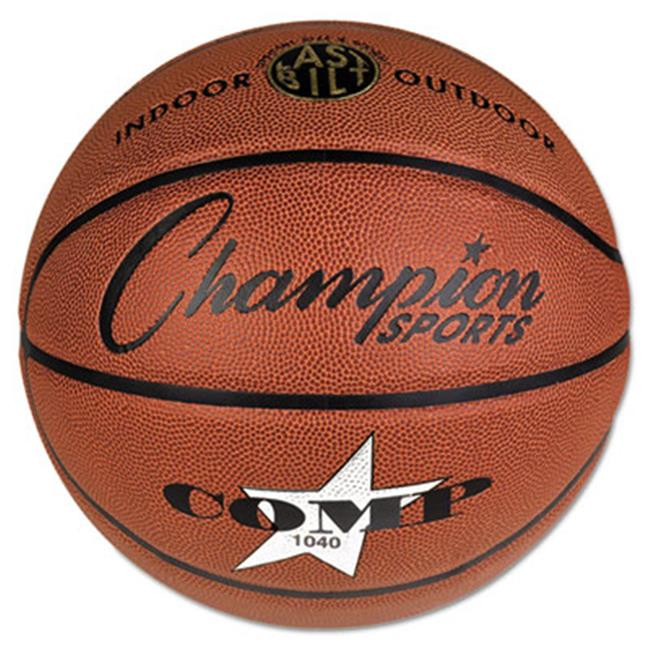 Champion Sport SB1040 Composite Basketball, Official Junior, 27.75 in., Brown - image 1 de 1
