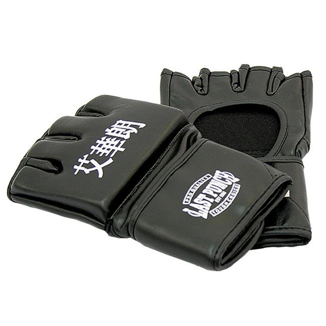 142 Black Grappling MMA Training Gloves UFC Style Gloves