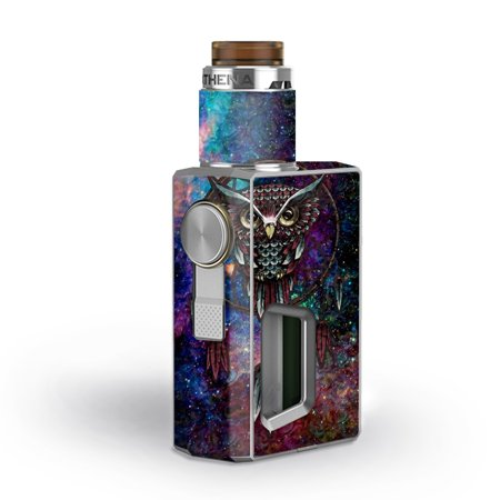 Skins Decals for GeekVape Athena Squonk Vape / Dreamcatcher Owl in Color