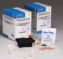 First Aid Only CPR one-way valve faceshield- latex free- ...