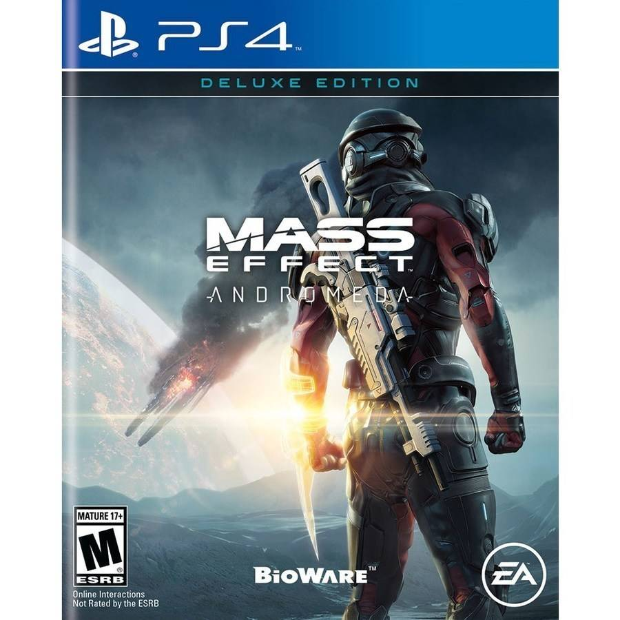 MASS EFFECT: ANDROMEDA DELUXE EDITION (Playstation 4) by EA