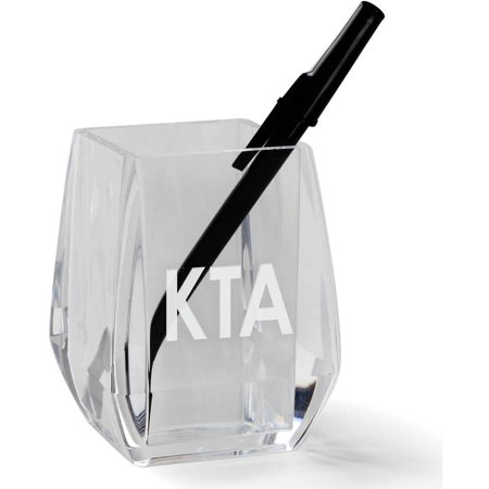 My Monogram Personalized Acrylic Pen and Pencil Holder](Personalized Pens And Pencils)
