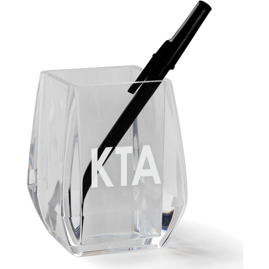 My Monogram Personalized Acrylic Pen and Pencil Holder