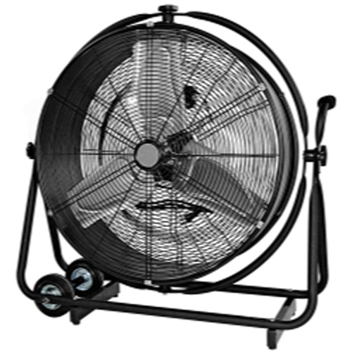 "24"" Drum Fan That Moves Vertically And Horizontall"