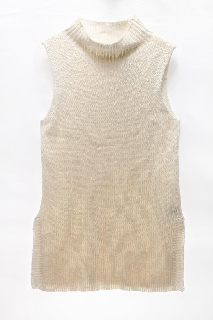 LAUREN RALPH LAUREN $100 NEW 20476 Ribbed Sleeveless Vest Womens Top M