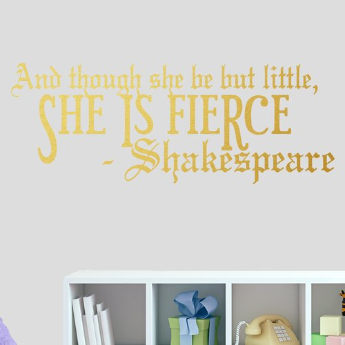 Harriet Bee She Is Fierce Wall Decal (Set of 3)