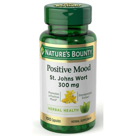Nature's Bounty St. John's Wort Standardized Extract 300 mg, 100ct (Chamomile Standardized Extract)