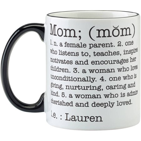Personalized Mother Day Gifts (Personalized Define Her Coffee Mug, 11 oz -)